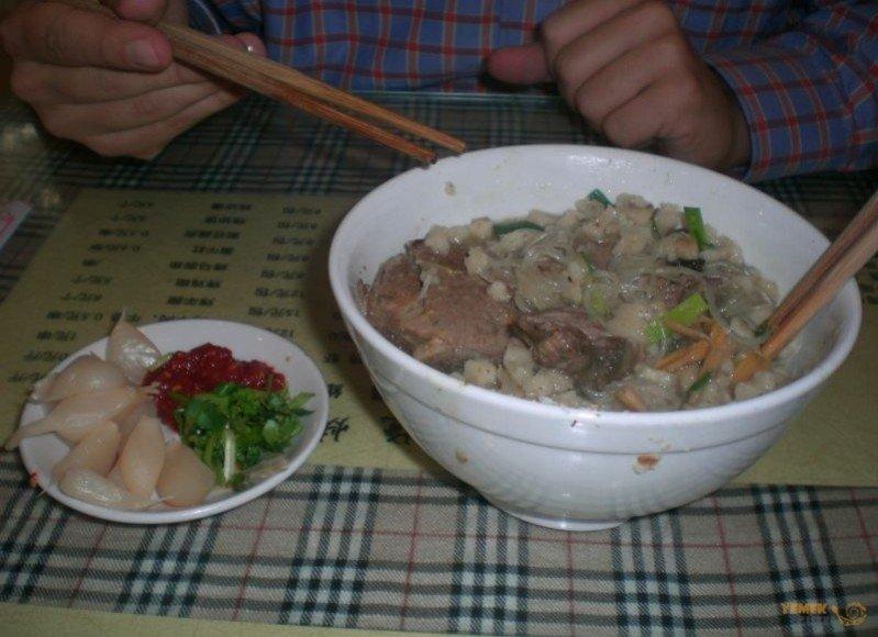 Çin yemeklerinin en müşhuru Yang Rou Pao Mo