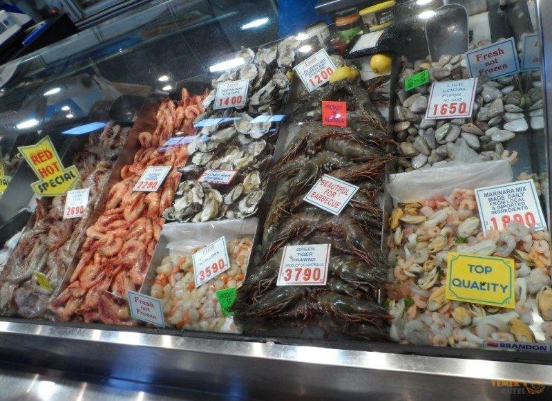 Avustralya balıkları, Avustralya - Yeni Zelanda Yemekleri