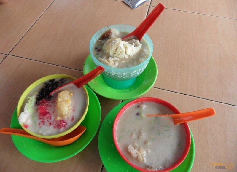 Malezya Mutfağı, Chendol, Buzlu Malay Bulamaçları