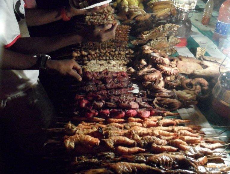 Zanzibar Gece Pazarı, Tanzanya'da Ne Yenir