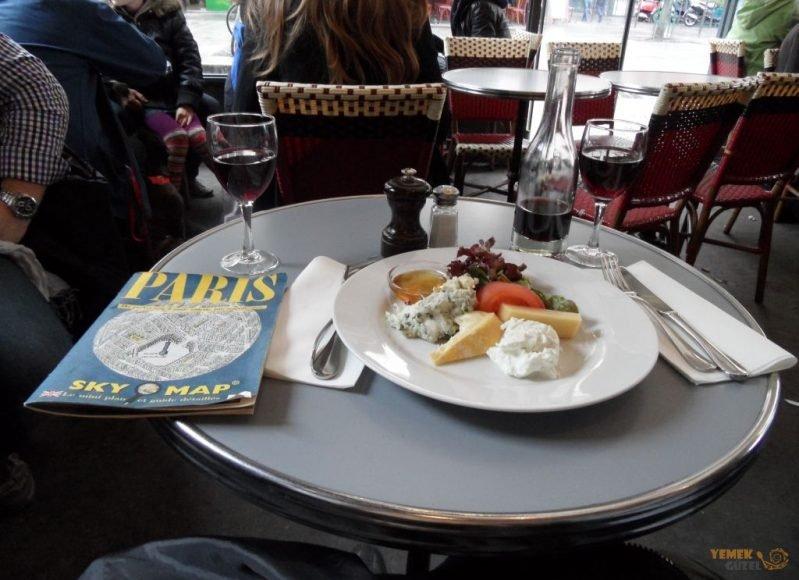 Şarap - Peynir, Paris'te Yeme içme