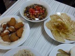 Felafel, Foul, Humus, Suriye Lokantası Sindibad