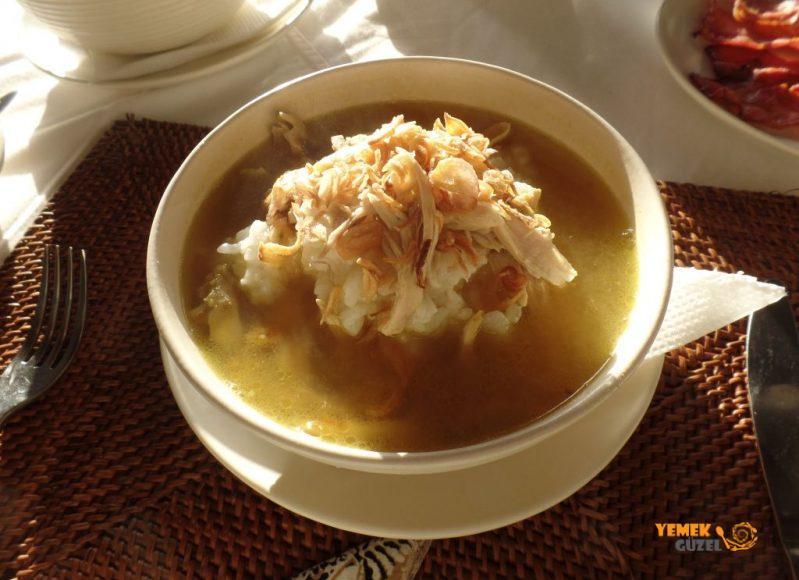Endonezya Yemekleri, Budur Ayam, Endonezya Kahvaltısı