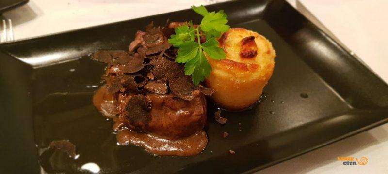 Black Truffle beef fillet, siyat trüf, Life Restaurant
