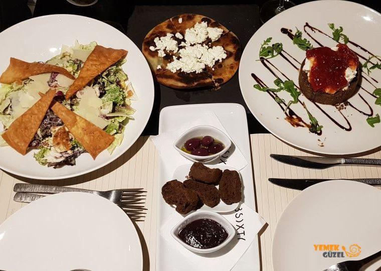 3 Sixty - Nafplio'da Gurme Akşam Yemeği