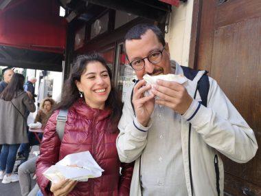 Montmarte Yemek Turu Krep Yerken