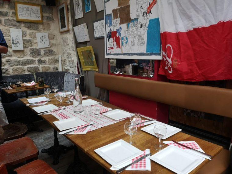 Montmarte Yemek Turu Soframız