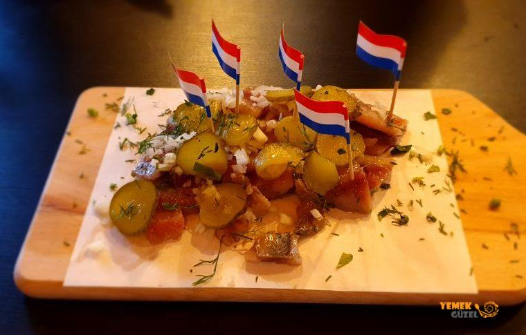 Amsterdam Yemek Turu - Haring, Herring